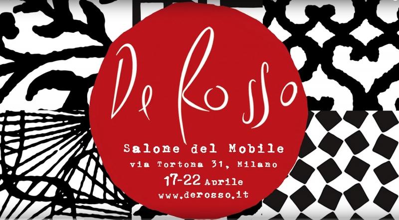 De Rosso - Salone del Mobile Milano 2018
